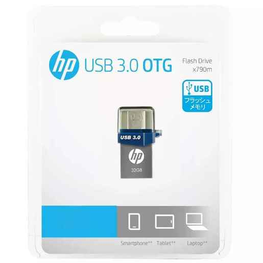 Pendrive OTG 32 GB HP Celular Tablet Pc Micro USB 3.0