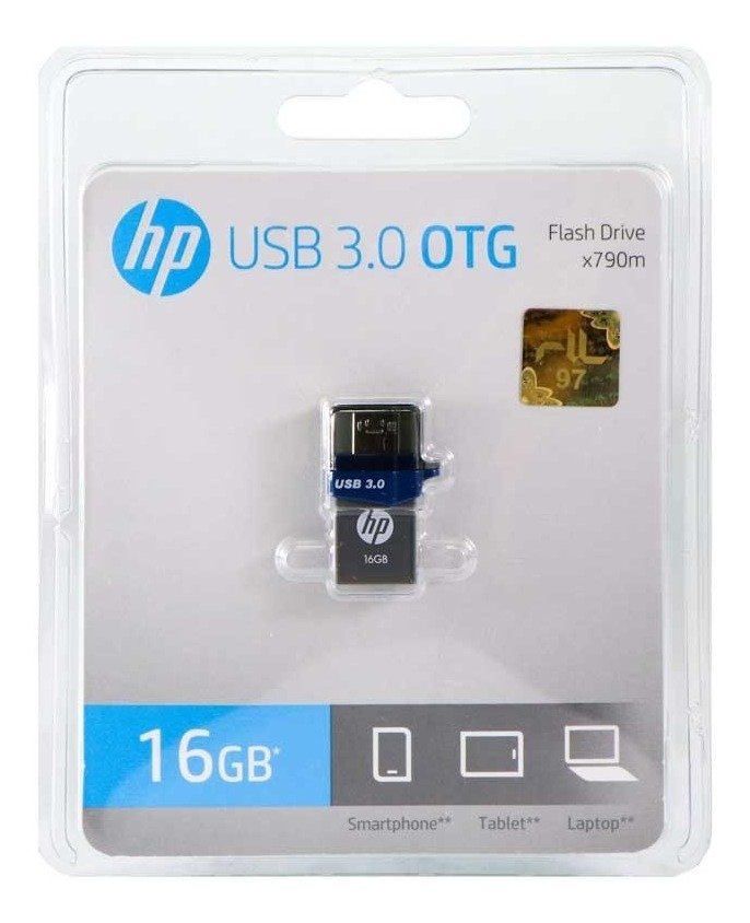 Pendrive OTG 16 GB HP Celular Tablet Pc Micro USB 3.0