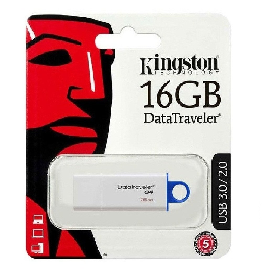 Pendrive 16GB Kingston DTIG4 USB 3.1