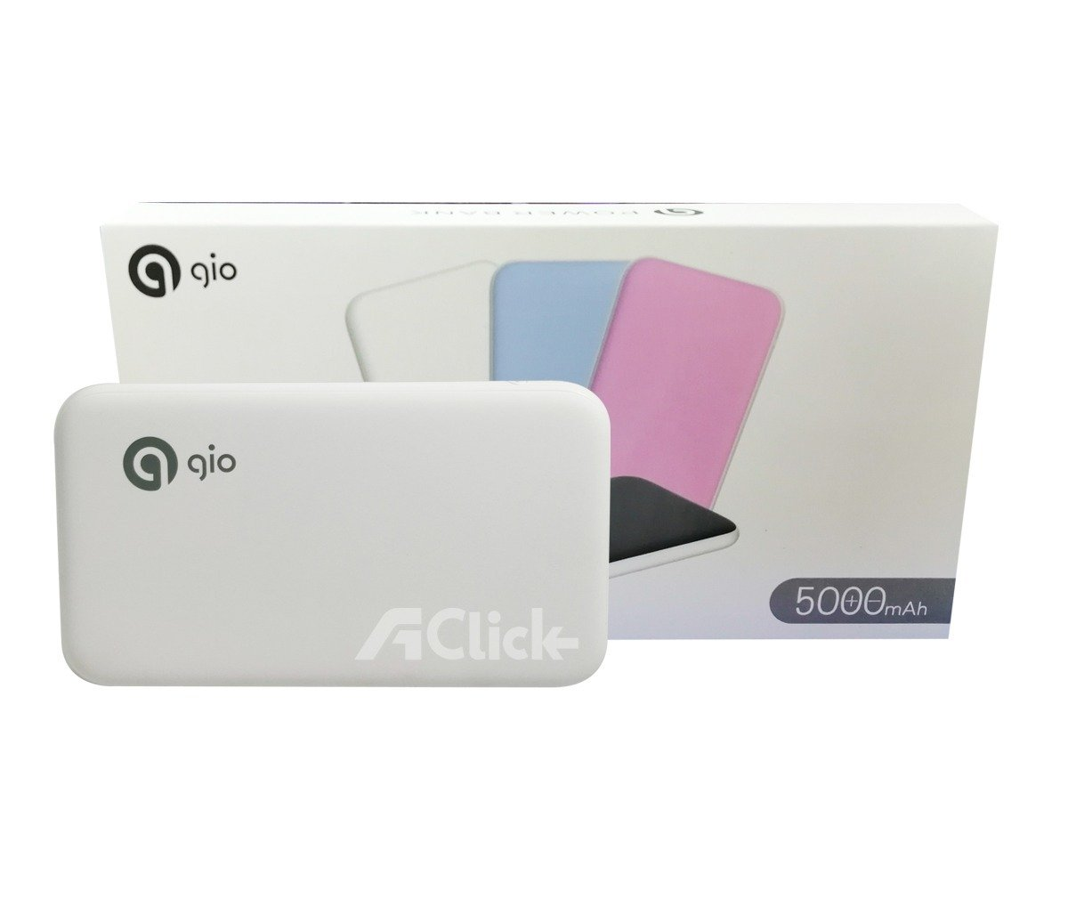 Cargador Portatil Powerbank Gio 5000 Mah