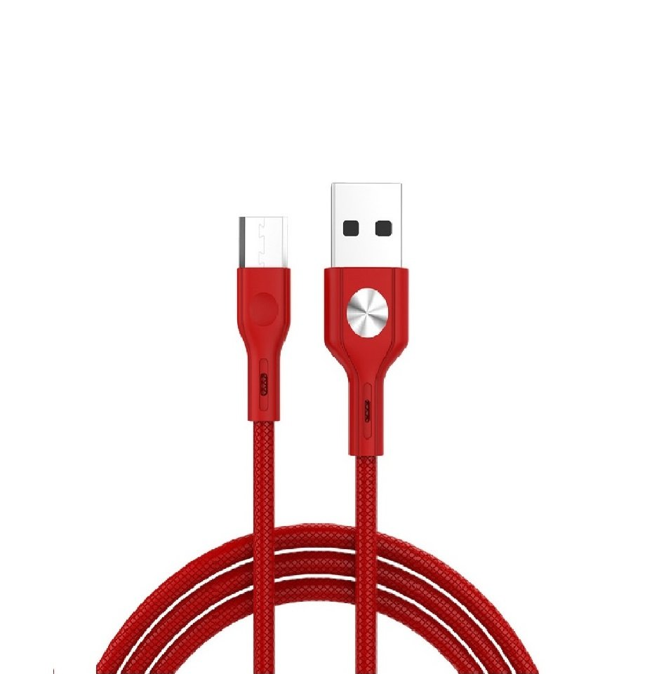 Cable Usb Tipo C Golf Red 3.0A